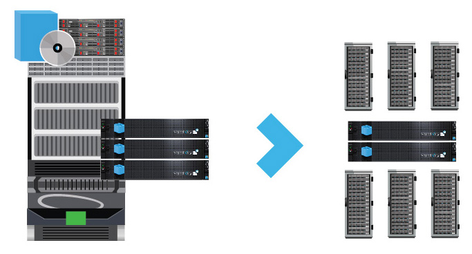 Data Center Migration with OmniCube